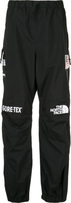 Supreme X North Face Black Goretex Pants