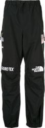 Supreme X North Face Black Goretex Pants