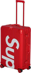 Supreme X Rimowa Red 45 Luggage Case