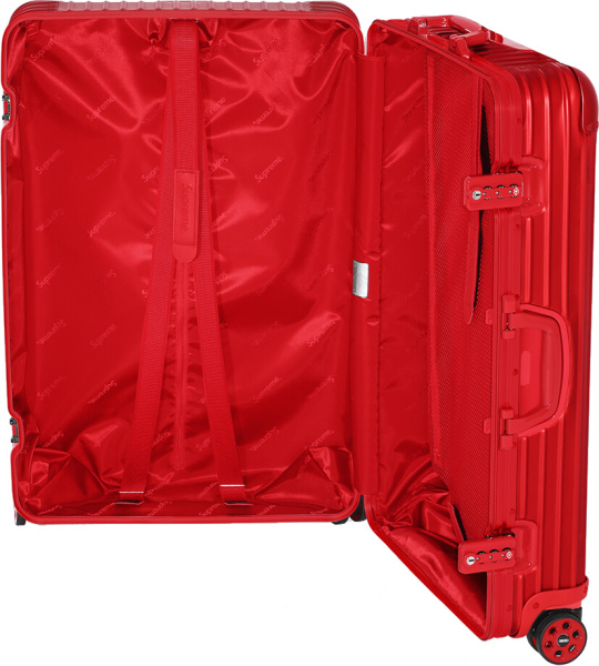 Supreme X Rimowa Red Topas