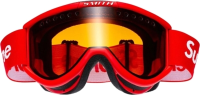 Supreme X Smith Red Ski Goggles