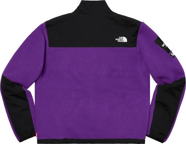 Supreme X The North Face Purple Denali Jacket