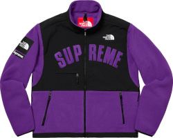 Supreme X The North Face Purple Fleece Jacket