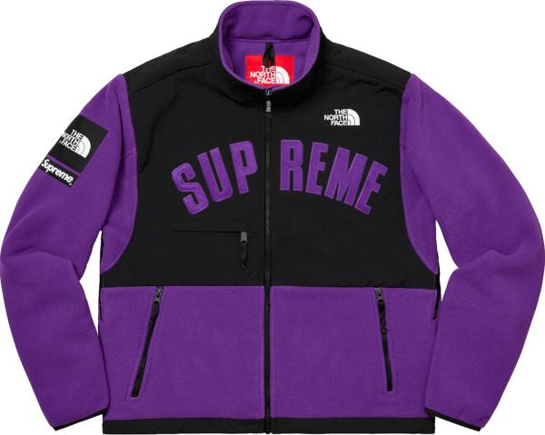 Supreme X The North Face Purple Fleece Jacket