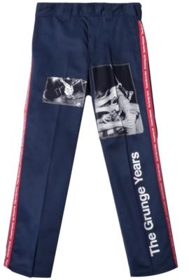 Takahito Miyashirt Navy The Grunge Years Printed Pants