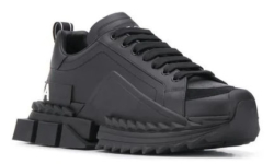 Take Off Black Dolce And Gabbana Sneakers
