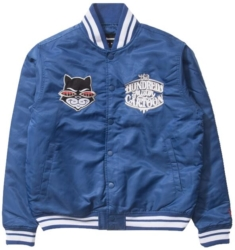 The Hundreds X Mister Cartoon Blue Bomber Jacket