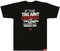 The Marathon Clothing Crenshaw Knockoff Logo Print