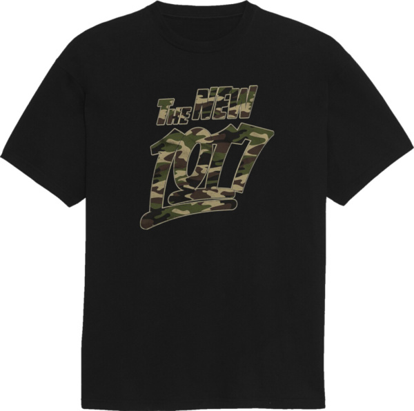 The New 1017 Camo Print Merch T Shirt