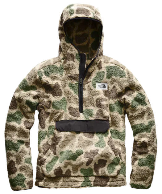 The North Face Camo Sherpa Jacket Worn By Kodak Black
