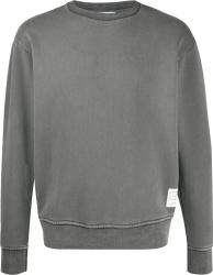 Grey Garment-Dyed Sweatshirt