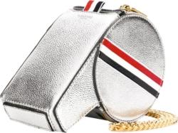 Thom Browne Metallic Leather Whistle Shaped Bag