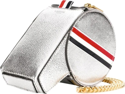Thom Browne Metallic Leather Whistle Shaped Bag