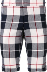 Thom Browne Tartan Wool Shorts