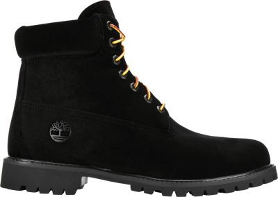 Timberland X Off White Black Velvet Boots