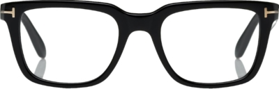 Tom Ford Black Square Frame Glasses