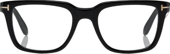 Tom Ford Black Square Frame Glasses