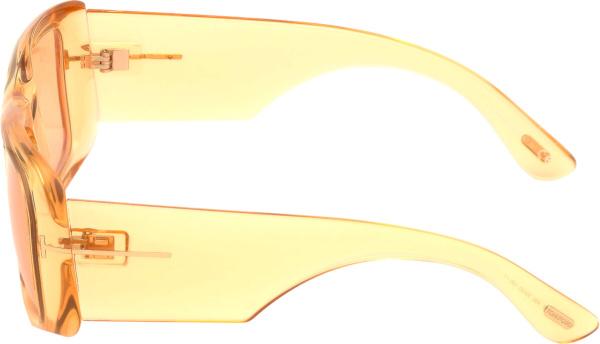 Tom Ford Orange Crystal Aristotle Sunglasses