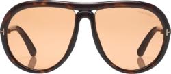 Tom Ford Tortoise Cybil Sunglasses