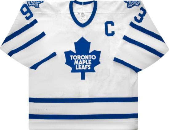 Toronto Maple Leafs White Doug Gilmore Jersey