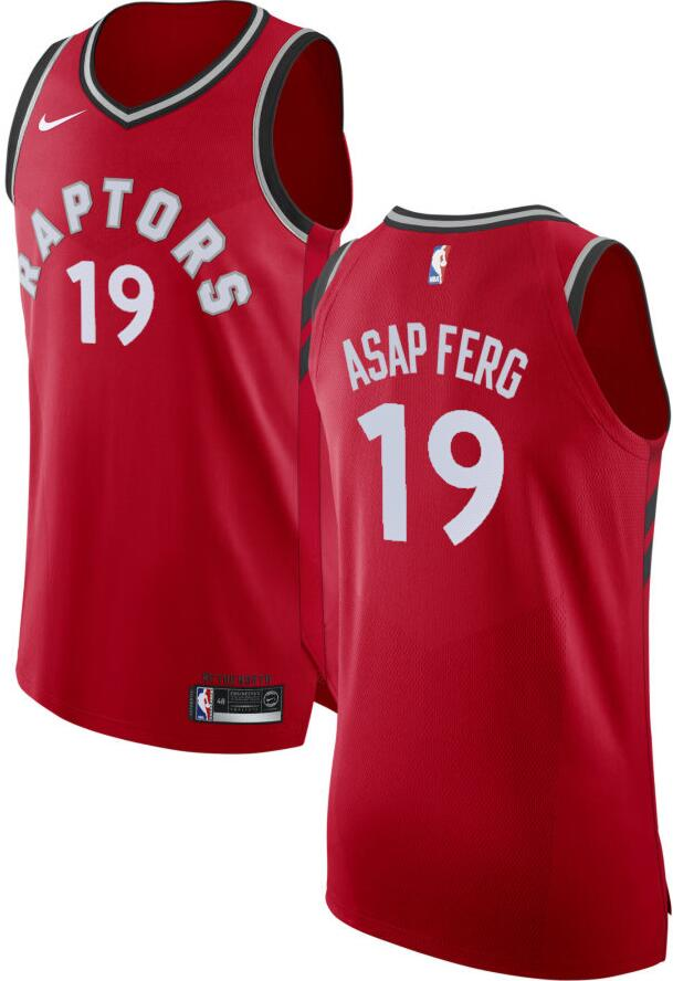Toronto Raptors Red Nike Basketball Jersey