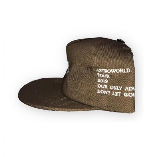 551835843b8c3 Travis Scott 2019 Astro World Hat Brown
