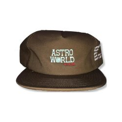 Travis Scott Brown Astro Wrld Hat