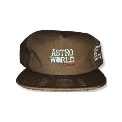 Travis Scott Brown Astro Wrld Hat
