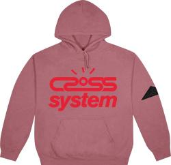 Travis Scott Cactus Jack Pink Cross System Hoodie