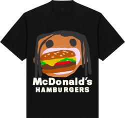 Travis Scott X Mcdonalds Black Order T Shirt