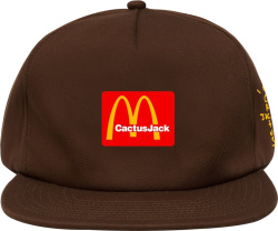 Travis Scott X Mcdonalds Brown Hat