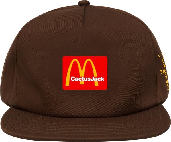 Travis Scott X Mcdonalds Brown Hat