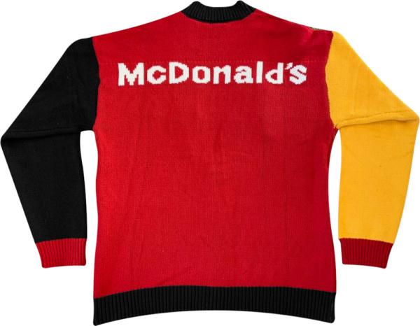 Travis Scott X Mcdonalds Cardigan