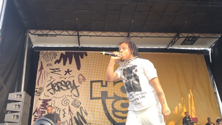 Trippie Redd Performing At Hot 97s Summer Jam In A Takahiro Miyashirt Shirt