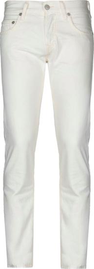 True Religion White Skinny Rocco Jeans