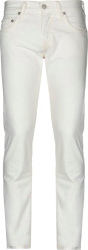 True Religion White Skinny Rocco Jeans