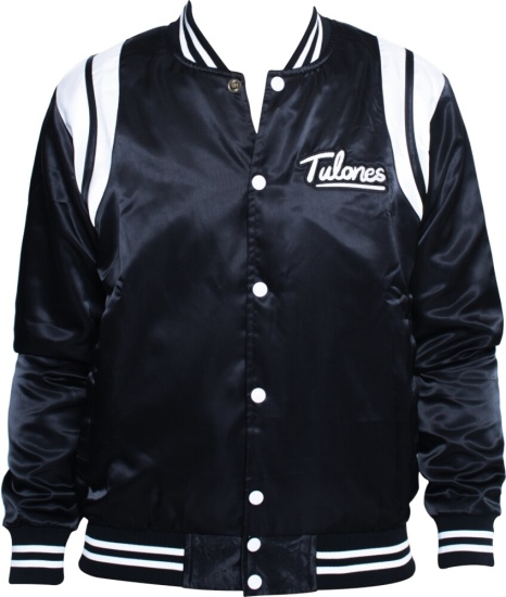 Tulones Black Bomer Jacket