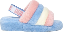 Ugg Light Blue Fluff Yeah Slippers