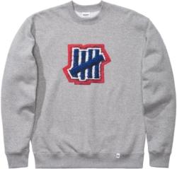 Undefeated Grey Crewneck Sweatshirt Worn By Swae Lee
