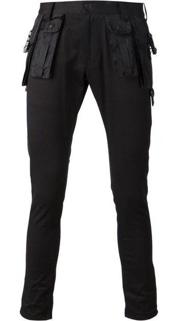 Undercover Black Utility Pants Worn By Lil Uzi Vert