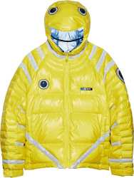 Undercover Yellow Astro Puffer Jacket