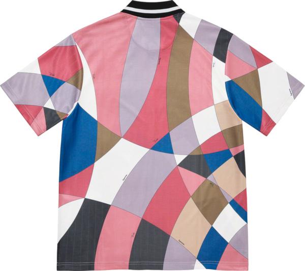 Upreme X Emilio Pucci Pastel Colorblock Polo