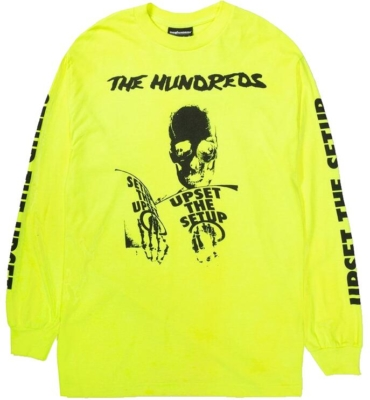 Upset The Setup Printed Yellow Shirt Worn By Joyner Lucas