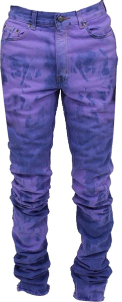 Vale Forever Puruple Tie Dye Jeans