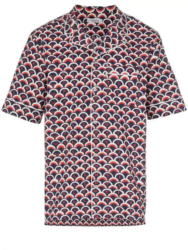 Valentino Scale Print Button Up Shirt Worn By Big Krit In His Energy Music Video