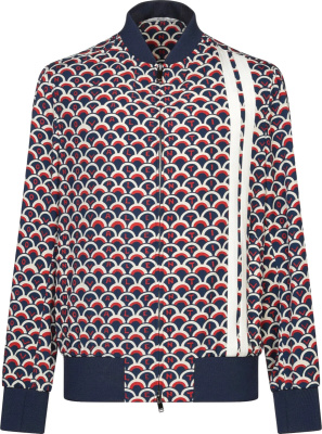 Valentino Scale Print Track Jacket