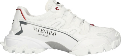 Valentino White 'garavani Climbers' Sneakers