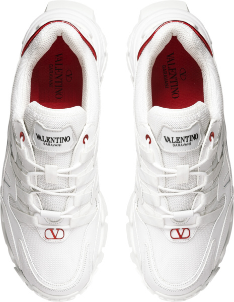 Valentino White Climber Sneakers