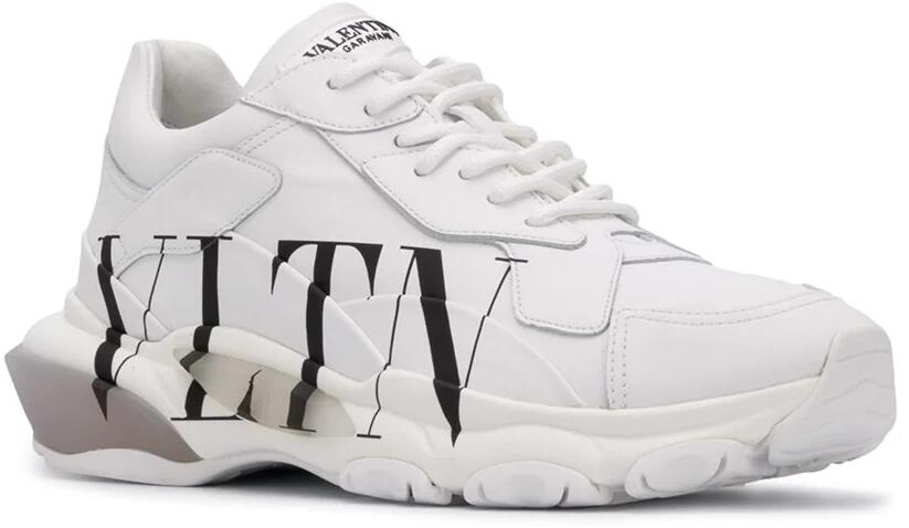 Valentino White Vltn Mens Sneakers