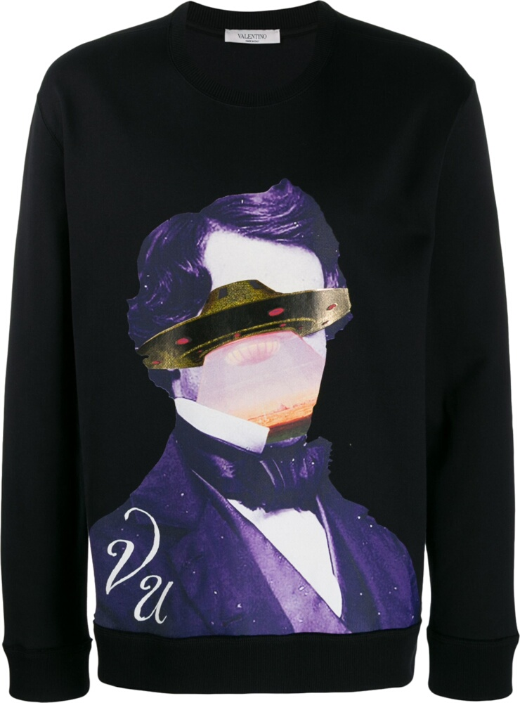 Valentino X Undercover Edgar Allen Poe Sweatshirt